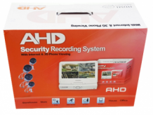 AHD Security Recording System 4 camera's