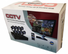 CCTV Beveiliging camera set 8 cams