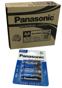 AA Panasonic batterijen set van 12